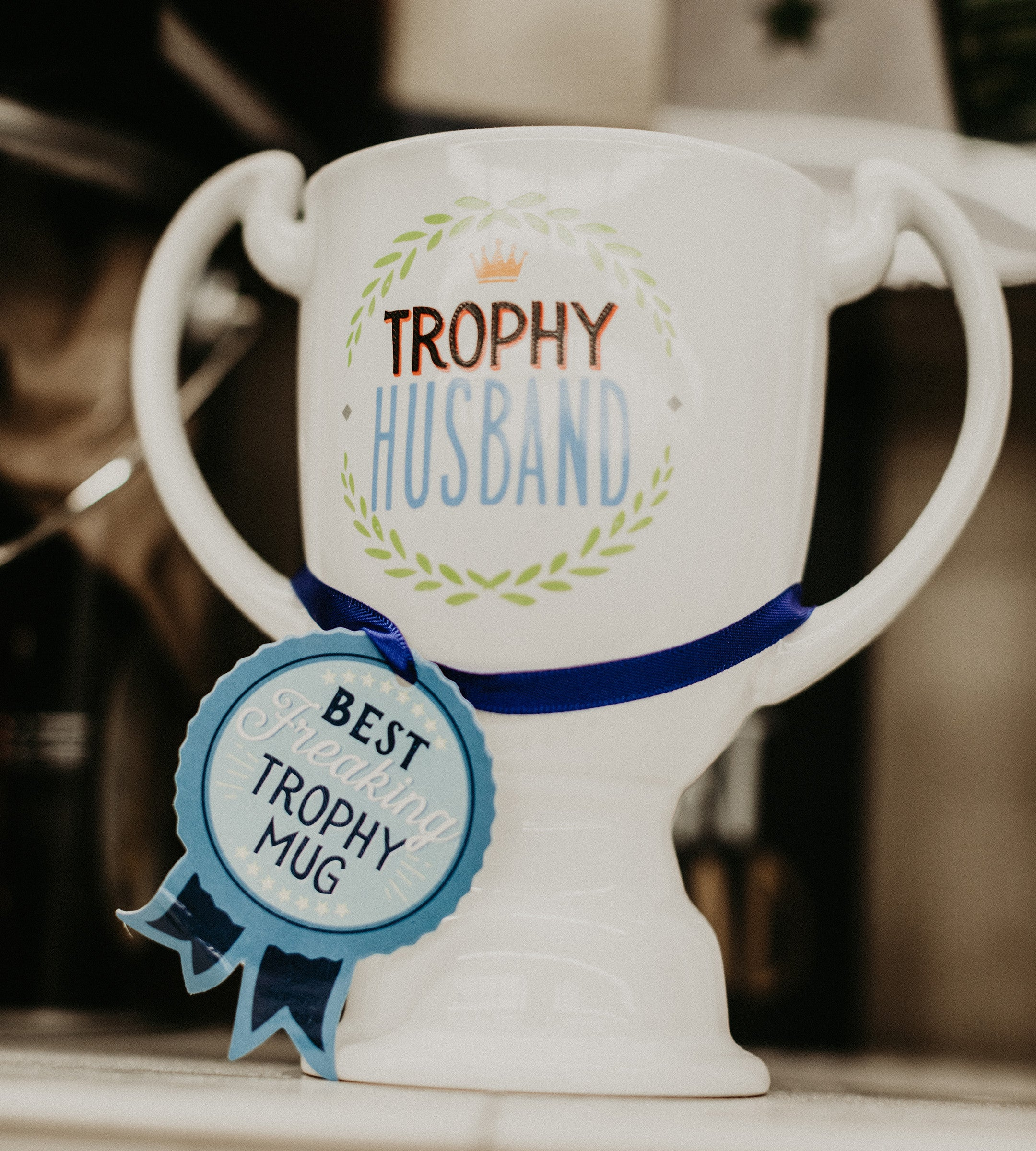 Trophy Husband Mug - Pharm Favorites by Economy Pharmacy