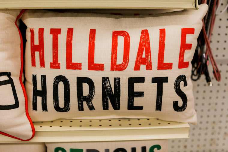 Hilldale Hornets Pillow