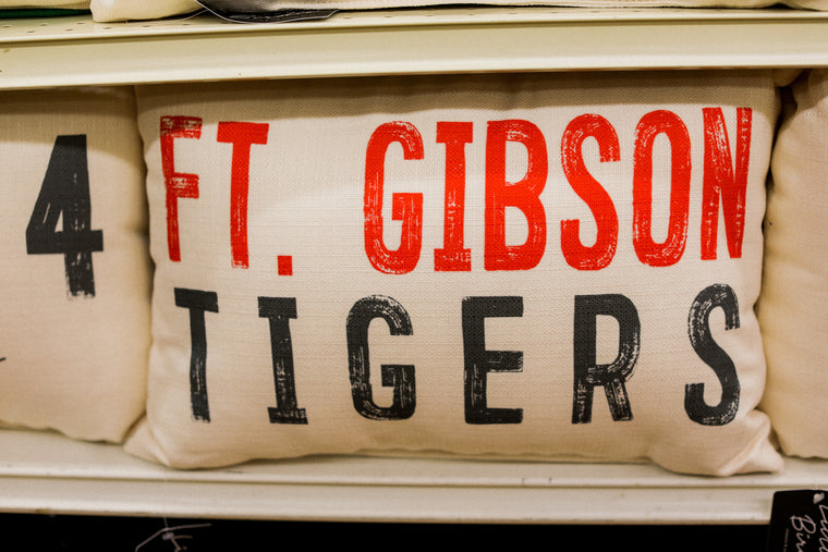 Ft. Gibson Tigers Pillow