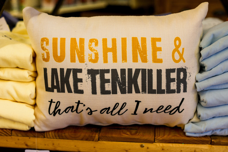 Lake Tenkiller Pillow