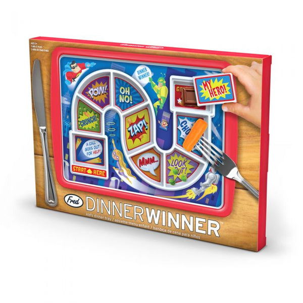 Dinner Winner Kid's Dinner Tray- Super Hero - Pharm Favorites by Economy Pharmacy