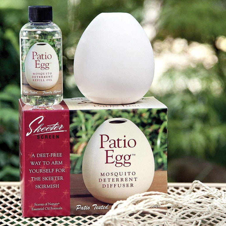 Patio Egg Mosquito Deterrent Diffuser