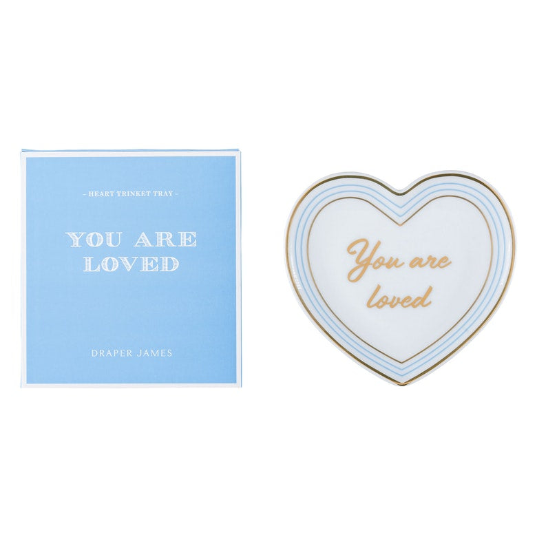 Heart Trinket Tray- You Are So Loved