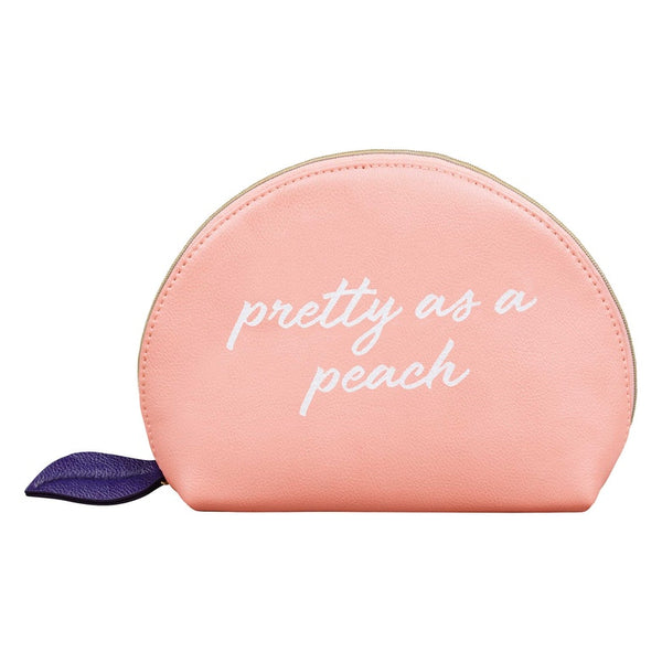 Cosmetic Bag- Pretty as a Peach - Pharm Favorites by Economy Pharmacy