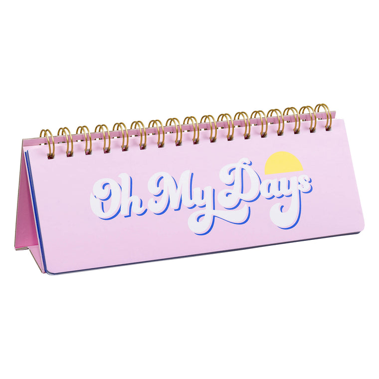 Weekly Desk Planner- Oh My Days