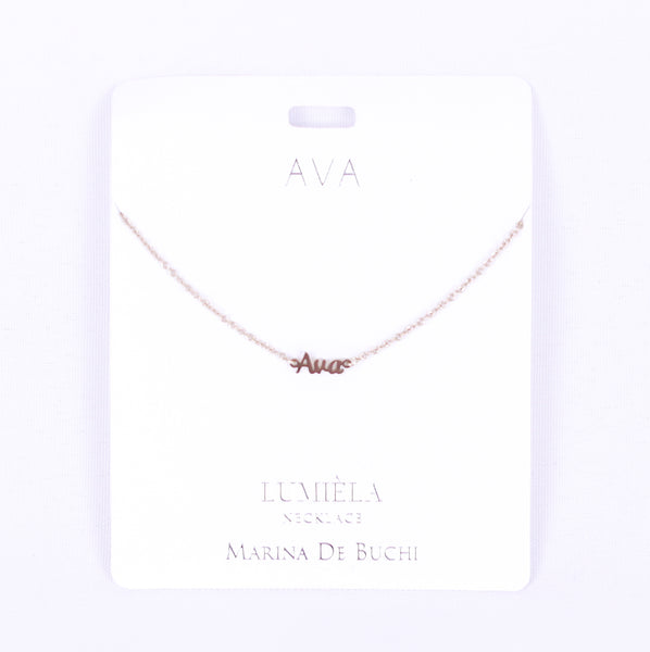 Personalized Necklaces A-J