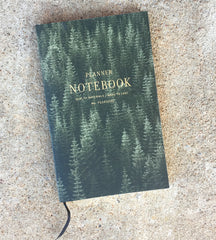 Planner Notebook - Trees