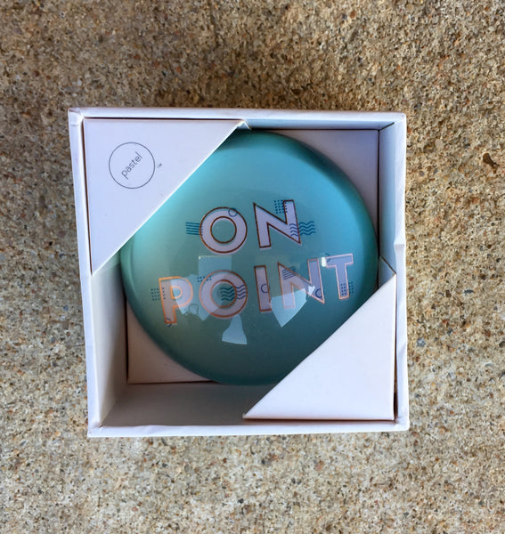 stylish Paper Weights - On Point