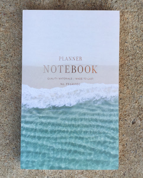 Planner Notebook - Waves