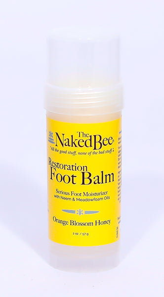 Restoration Foot Balm by the Naked Bee - Pharm Favorites by Economy Pharmacy