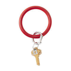 O-Keyring Vegan Leather - cherry on top