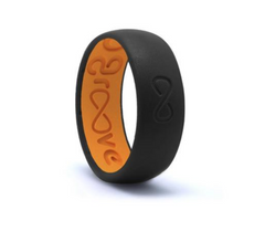 Original Groove Silicone Ring - Midnight Black
