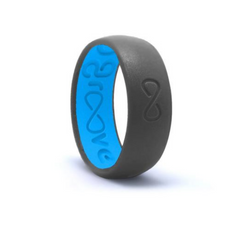 Original Groove Silicone Ring - Deep Stone Grey