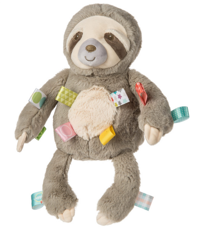 Sloth Taggie Toy