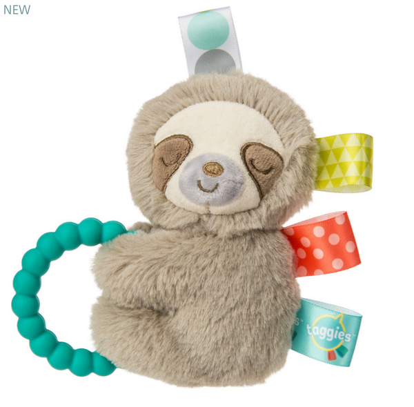 Sloth Taggie Rattle
