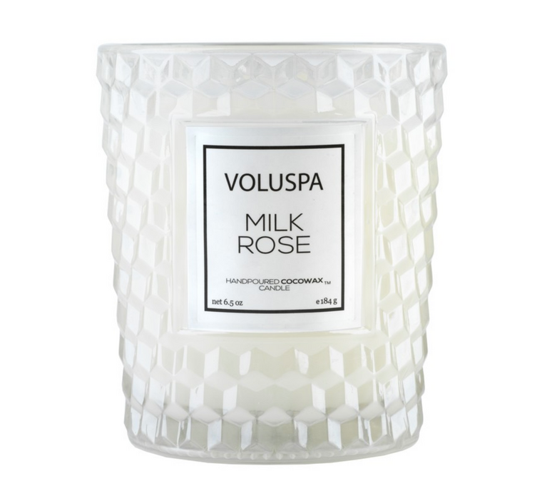 Classic Textured Glass Candle by Voluspa