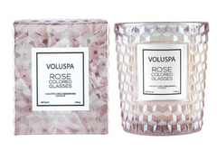 Classic Textured Glass Candle by Voluspa - Pharm Favorites by Economy Pharmacy