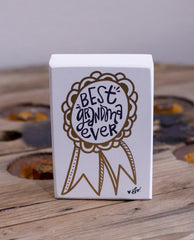 White Wood Block Art - Pharm Favorites by Economy Pharmacy