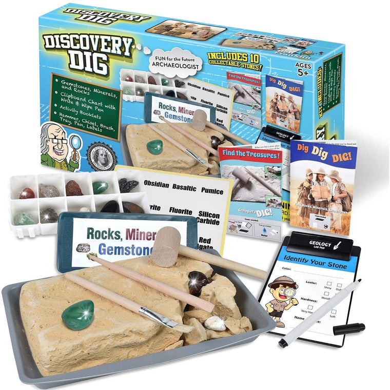 Discovery Rock and Gem Dig Set