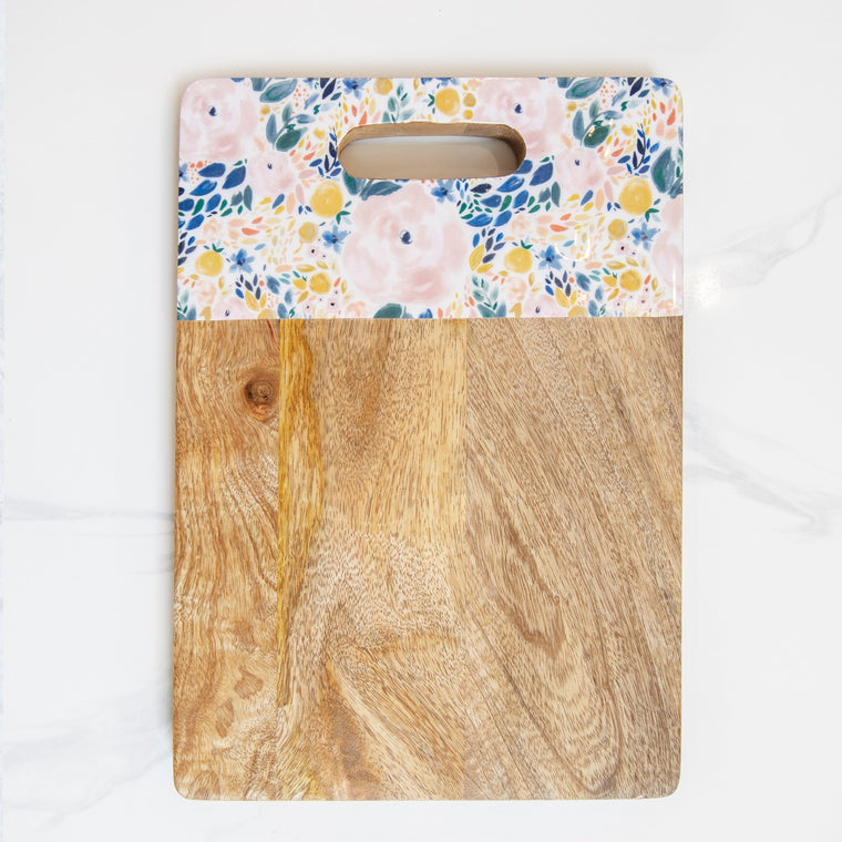 Enchanted Garden Cutting Board