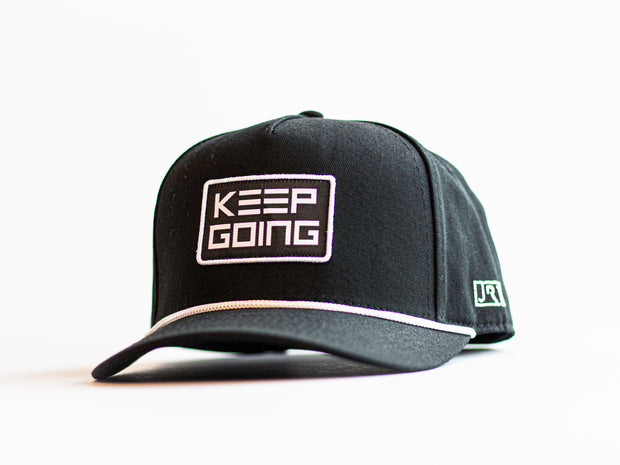 KEEP GOING Snapback Hat