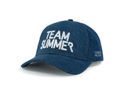 Denim Snapback Hat - Journey Risk True
