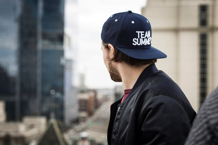 Deep Sea Snapback Hat - Journey Risk True