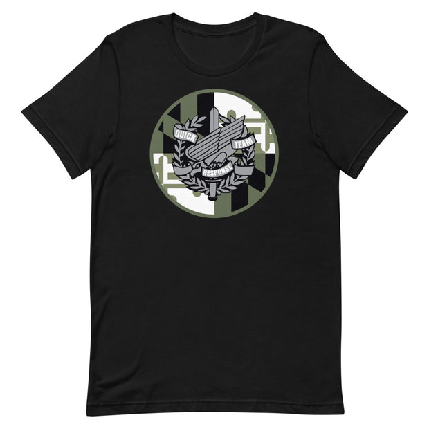 Anne Arundel OD Green Shield Logo Tee