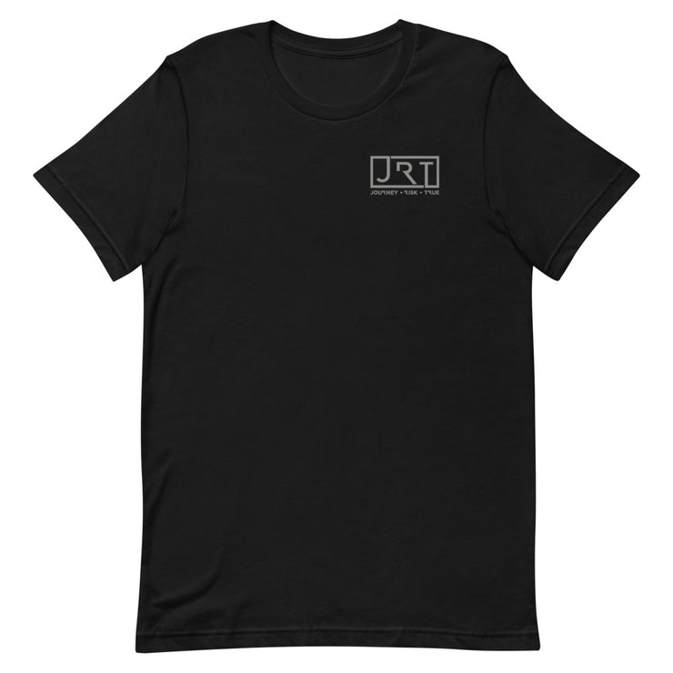 JRT Left Chest Grey Logo Tee