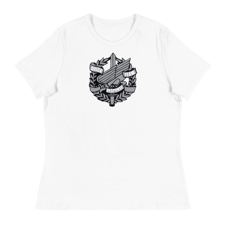 ANNE ARUNDEL WOMEN'S RELAXED CREST LOGO TEE