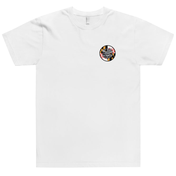 ANNE ARUNDEL LEFT CHEST AND BACK  MARYLAND LOGO TEE