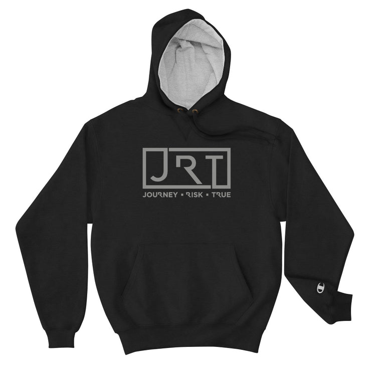 JRT Grey Chest Champion Hoodie
