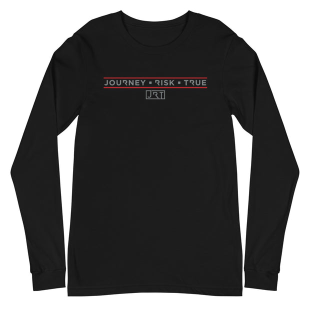 JRT THE HUNT RED LOGO LONG SLEEVE