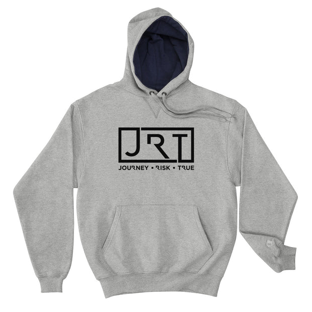 JRT Black Chest Champion Hoodie