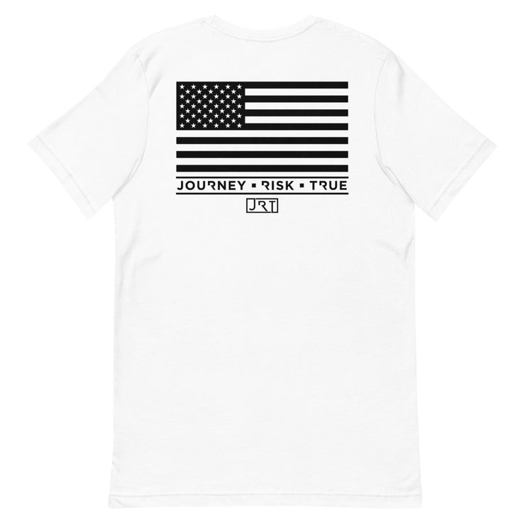 JRT Black USA Tee