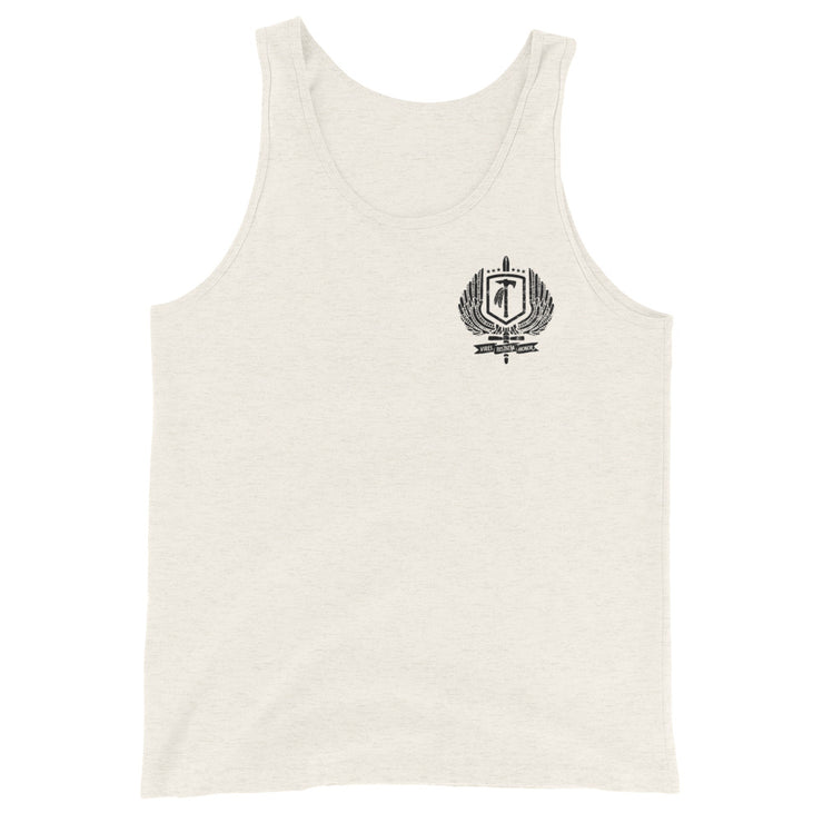 Bergen County TCS JRT Partnership Black Logo Tank Top