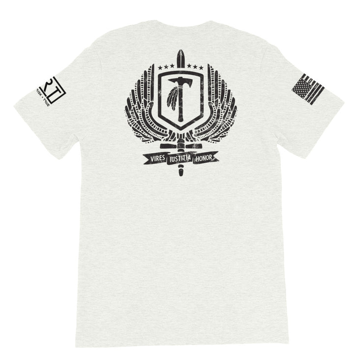 BERGEN COUNTY TSS JRT PARTNERSHIP BLACK LOGO TEE