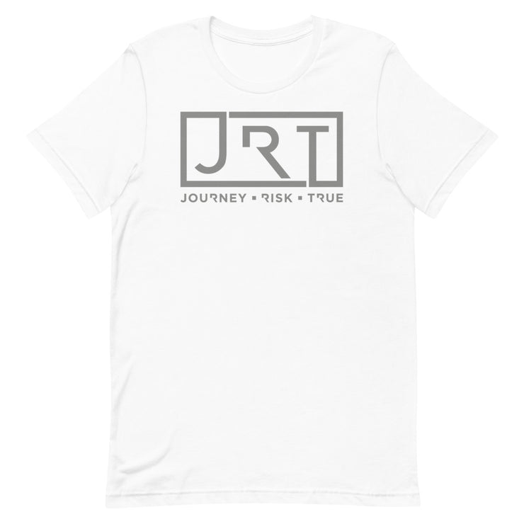 JRT Grey Chest Logo Tee