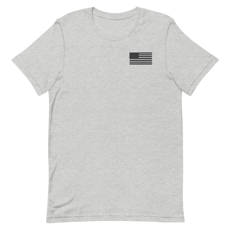 Anne Arundel Flag Front Shield Back Logo Tee