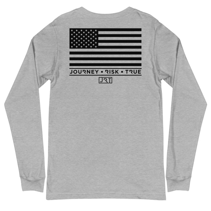 BERGEN COUNTY SWAT BLACK USA JRT LONG SLEEVE