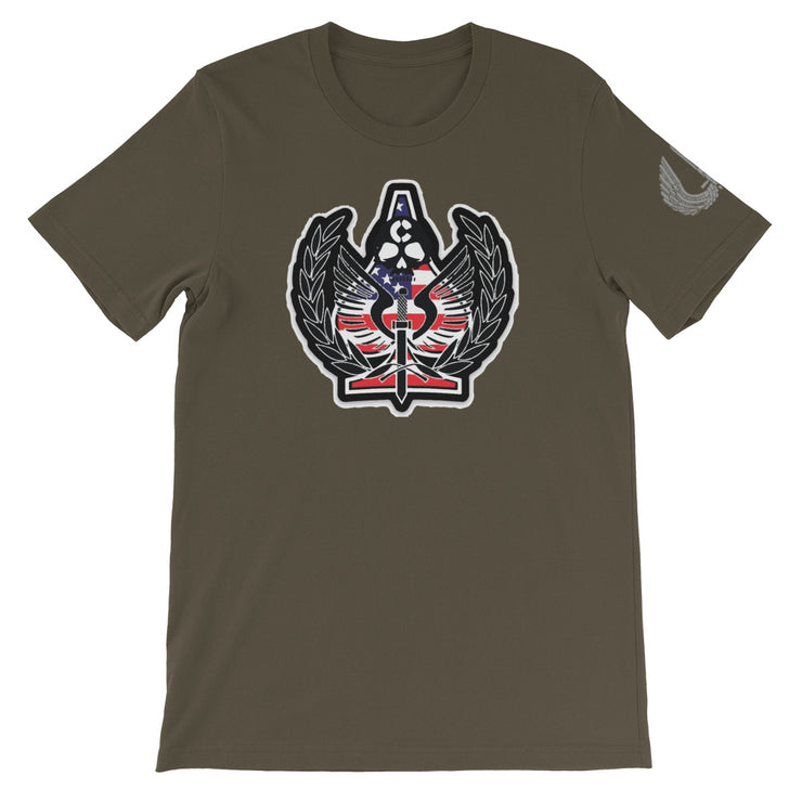 BERGEN COUNTY CHARLIE SQUAD AMERICAN LOGO TEE