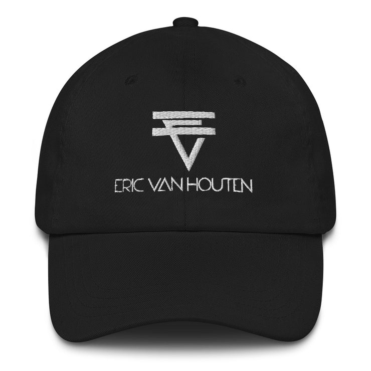 EVH White Logo Dad hat