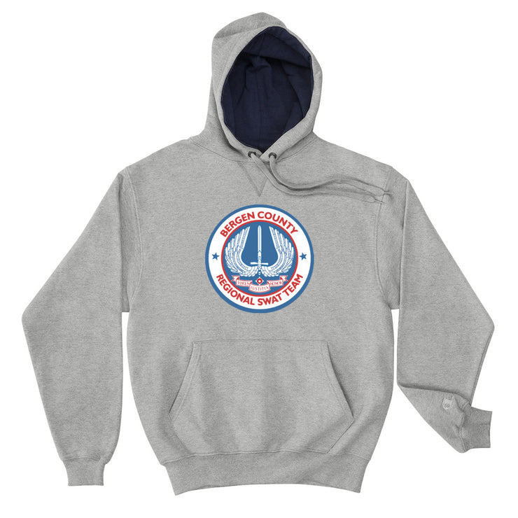 BERGEN COUNTY AMERICAN BLUE CHAMPION HOODIE