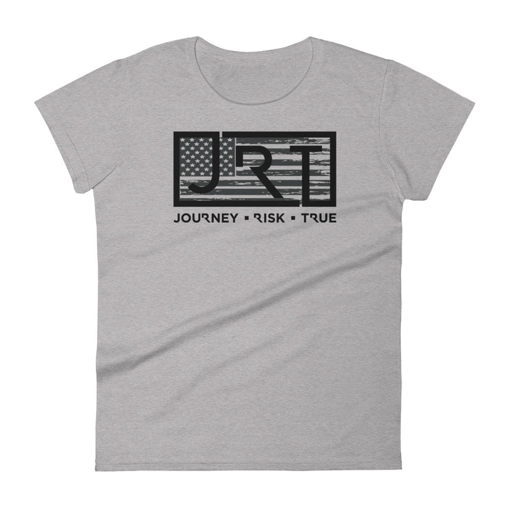 JRT American Blackout Women's Tee