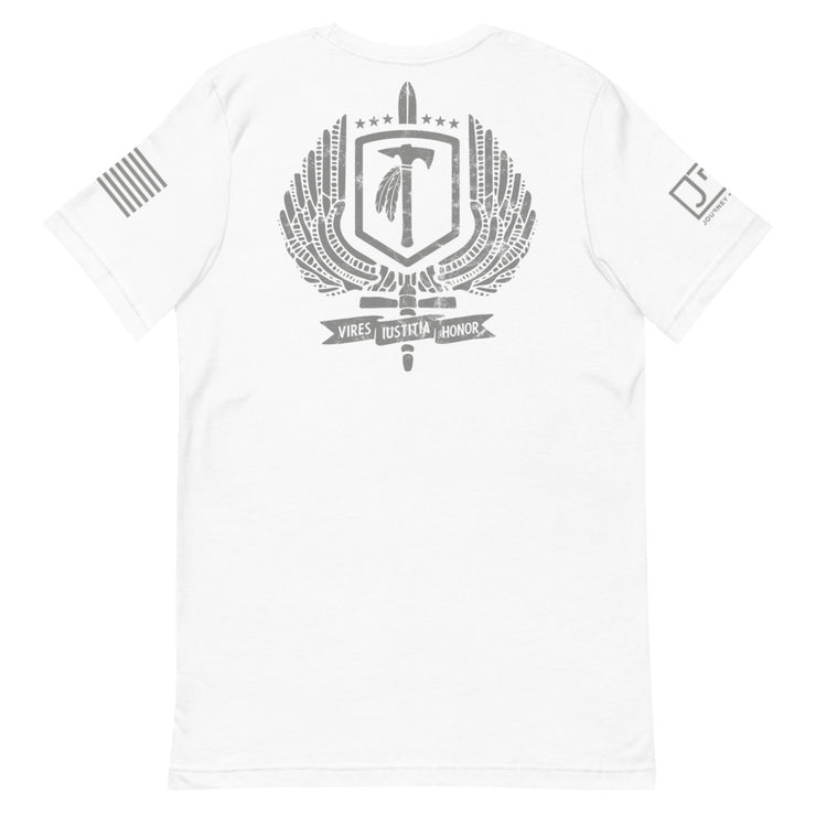 Bergen County TSS JRT Partnership Grey Logo Tee