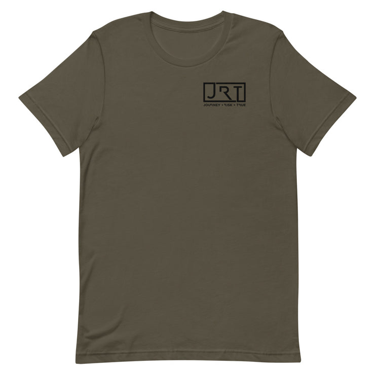 JRT Black Left Chest Tee