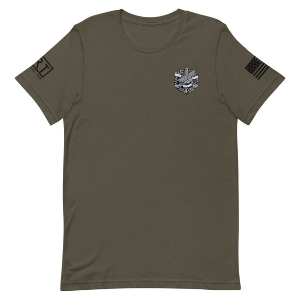 Anne Arundel Left Chest QRT Logo Tee