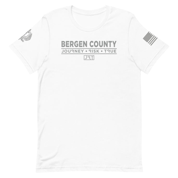 Bergen County JRT Partnership Grey Logo Tee