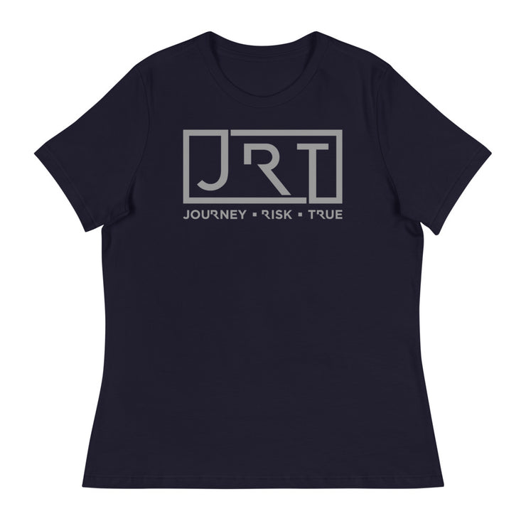 JRT Grey Chest Women's Relaxed Tee