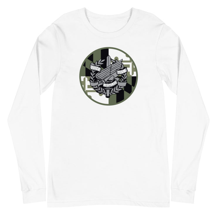 ANNE ARUNDEL GREEN LOGO LONG SLEEVE